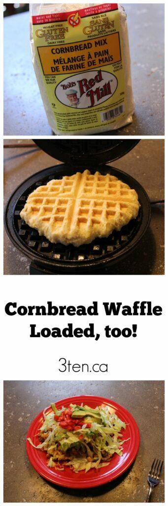 Cornbread Waffle: 3ten.ca