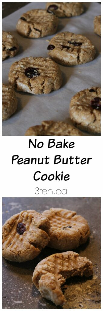 No Bake Peanut Butter Cookie: 3ten.ca