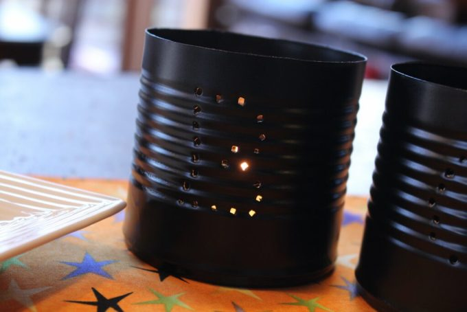Halloween Tin Lanterns: 3ten.ca