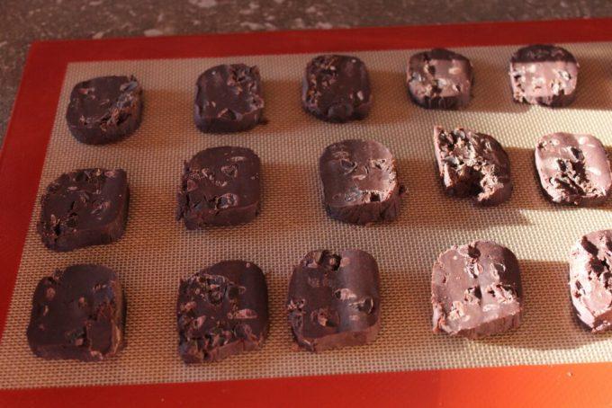 Dark Chocolate Butter Cookies: 3ten.ca