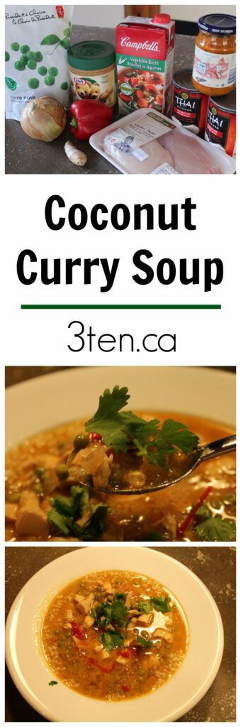 Coconut Curry Soup: 3ten.ca
