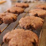 Molasses Churro Cookies