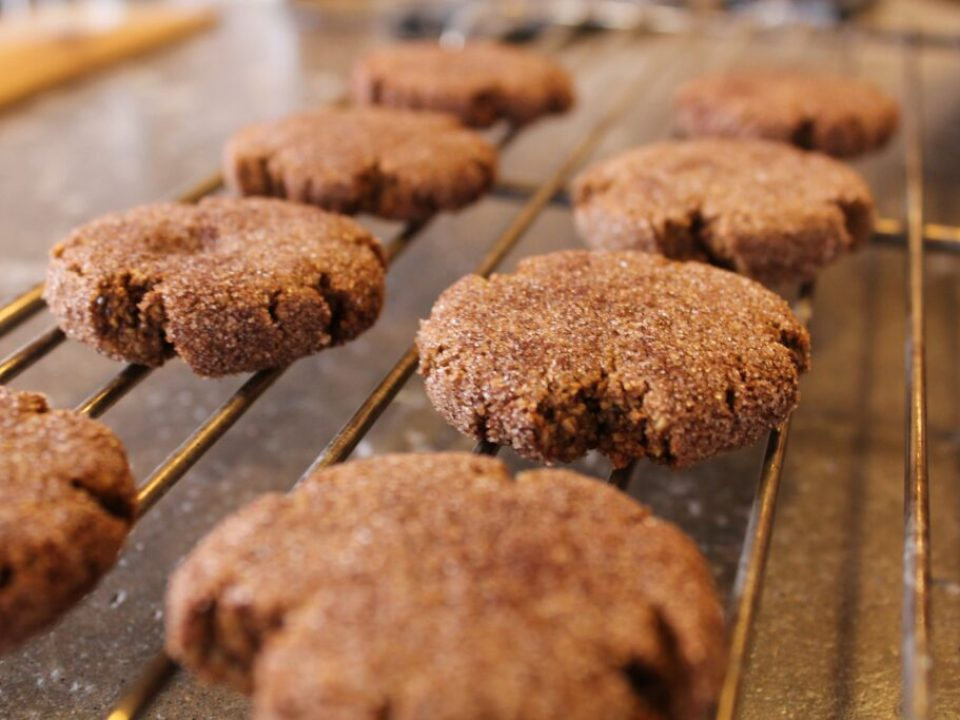 Molasses Churro Cookies: 3ten.ca