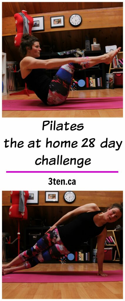 Pilates - the at home 28 day challenge: 3ten.ca
