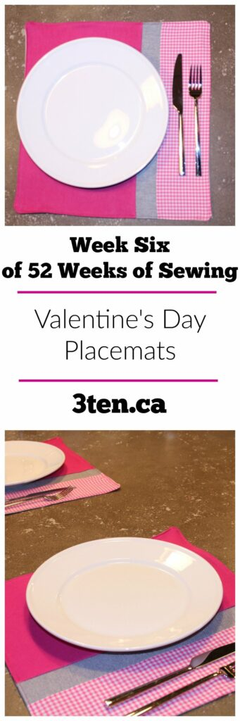 Week six: Valentine's Day Placemats: 3ten.ca