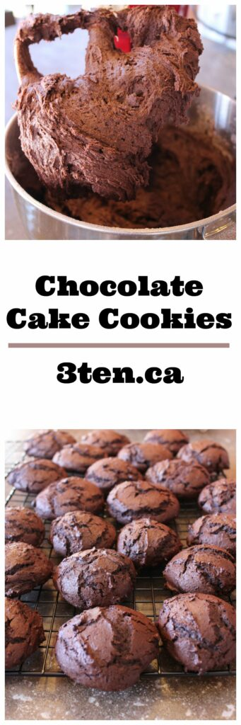 Chocolate Cake Cookies: 3ten.ca