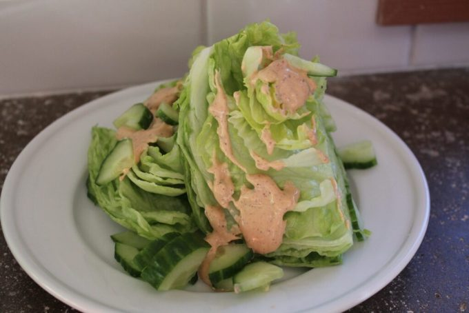 Creamy Avocado Southwestern Lettuce Wedge: 3ten.ca