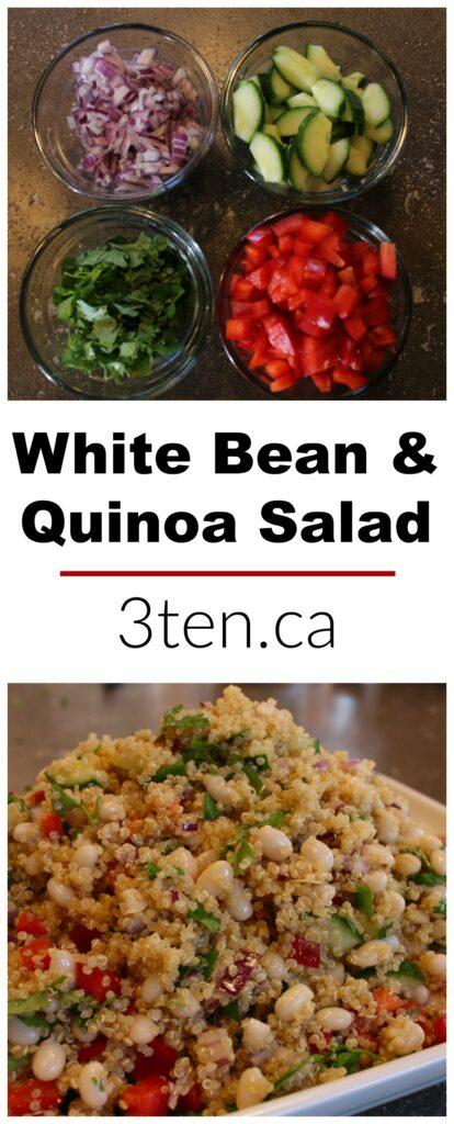 White Bean and Quinoa Salad: 3ten.ca