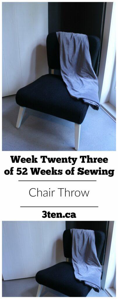 Chair Throw: 3ten.ca