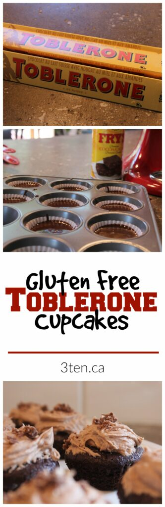 Gluten Free Toblerone Cupcakes: 3ten.ca