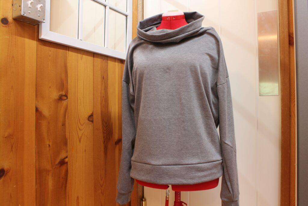 Cowl Neck Sweater: 3ten.ca