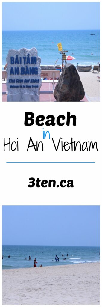Beach in Hoi An Vietnam: 3ten.ca