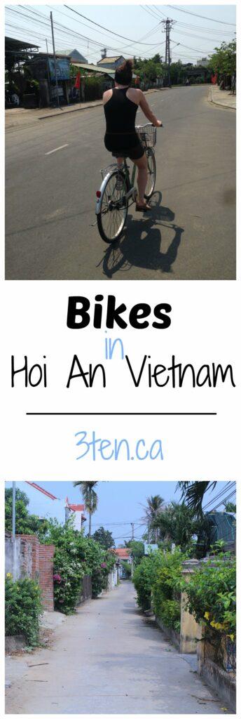 Bikes in Hoi An: 3ten.ca