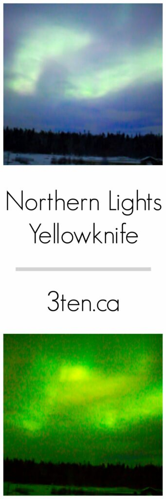 Northern Lights Yellowknife: 3ten.ca
