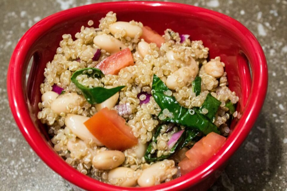 White Bean Quinoa Salad: 3ten.ca