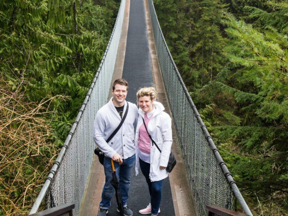 Capilano Bridge Vancouver: 3ten.ca