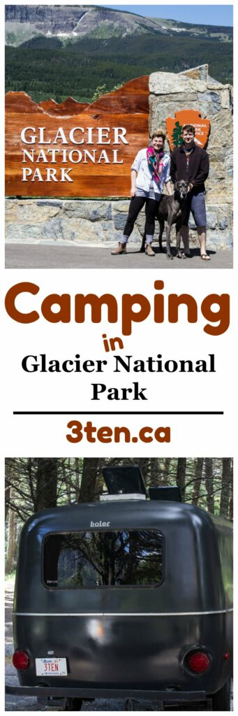 Camping in Glacier National Park: 3ten.ca