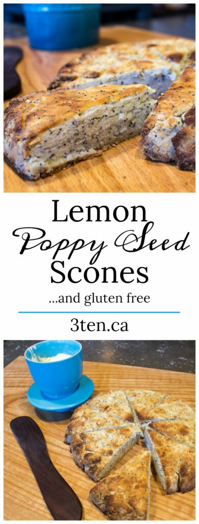 Lemon Poppy Seed Scones: 3ten.ca