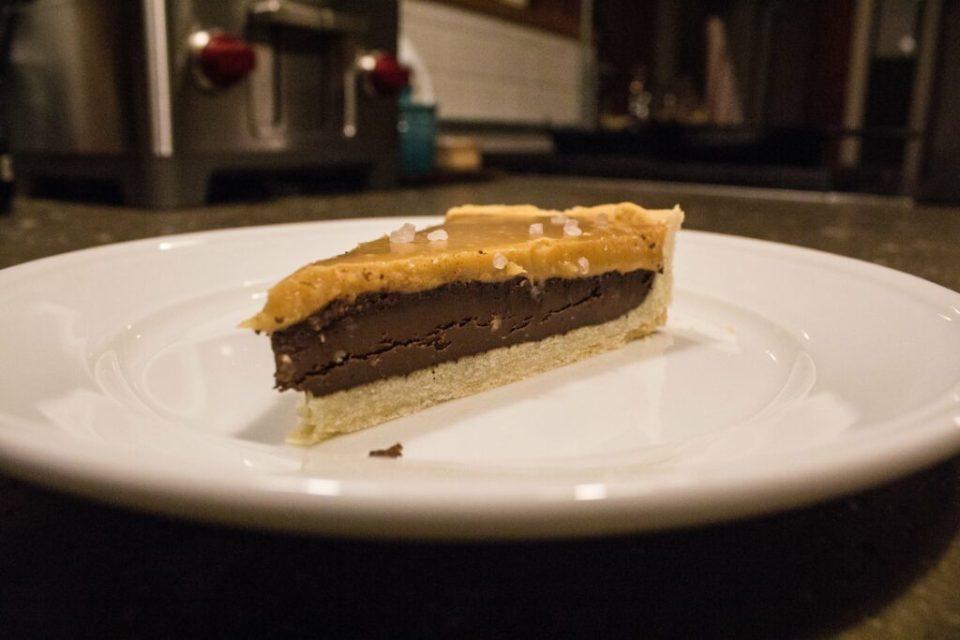 Salted Caramel Chocolate Tart: 3ten.ca