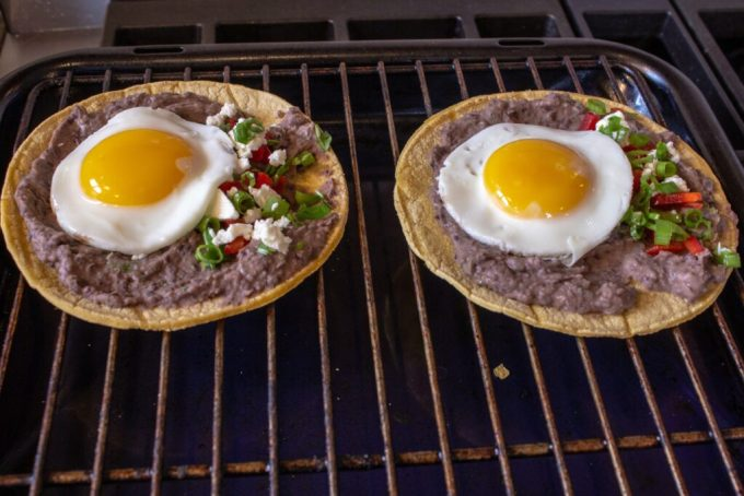 Egg Tostada: 3ten.ca