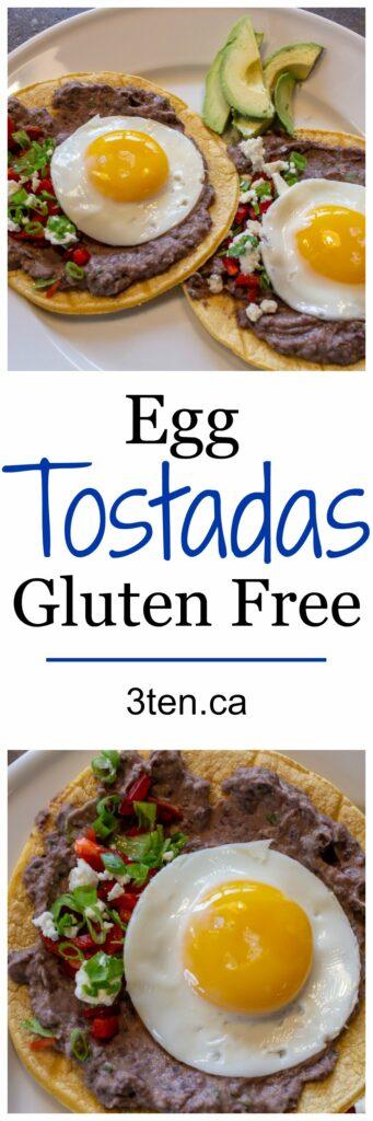 Egg Tostada: 3ten.ca