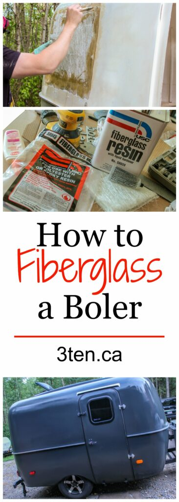 How to Fiberglass a Boler: 3ten.ca