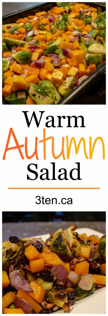 Warm Autumn Salad: 3ten.ca