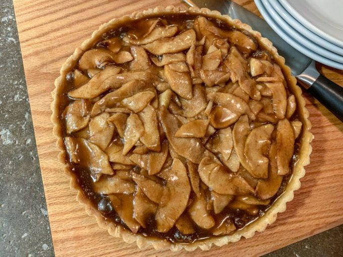 Caramel Apple Tart: 3ten.ca