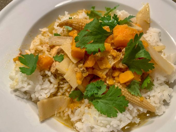 Chicken and Sweet Potato Curry: 3ten.ca