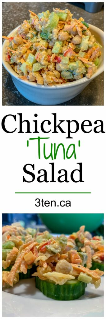 Chickpea 'Tuna' Salad: 3ten.ca