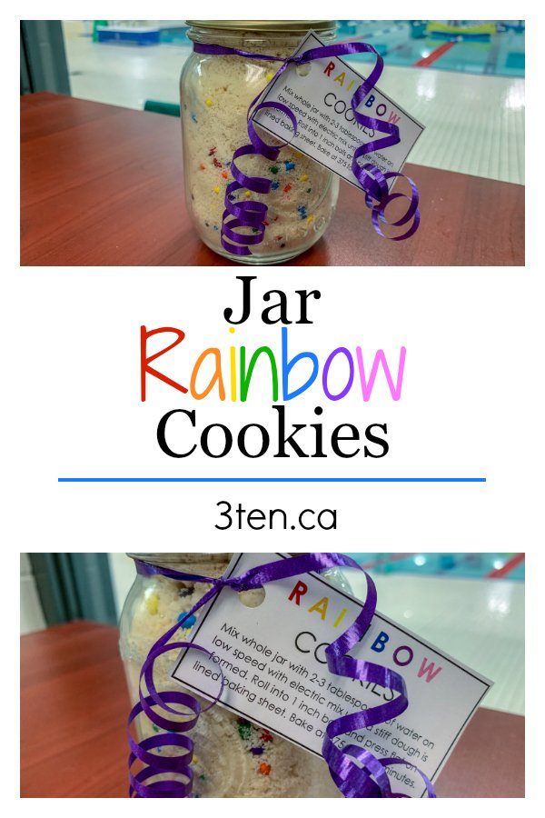 Rainbow Cookie Jars: 3ten.ca