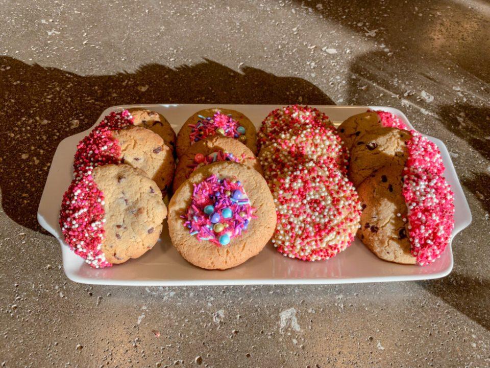 Pink Valentine's Day Cookies: 3ten.ca
