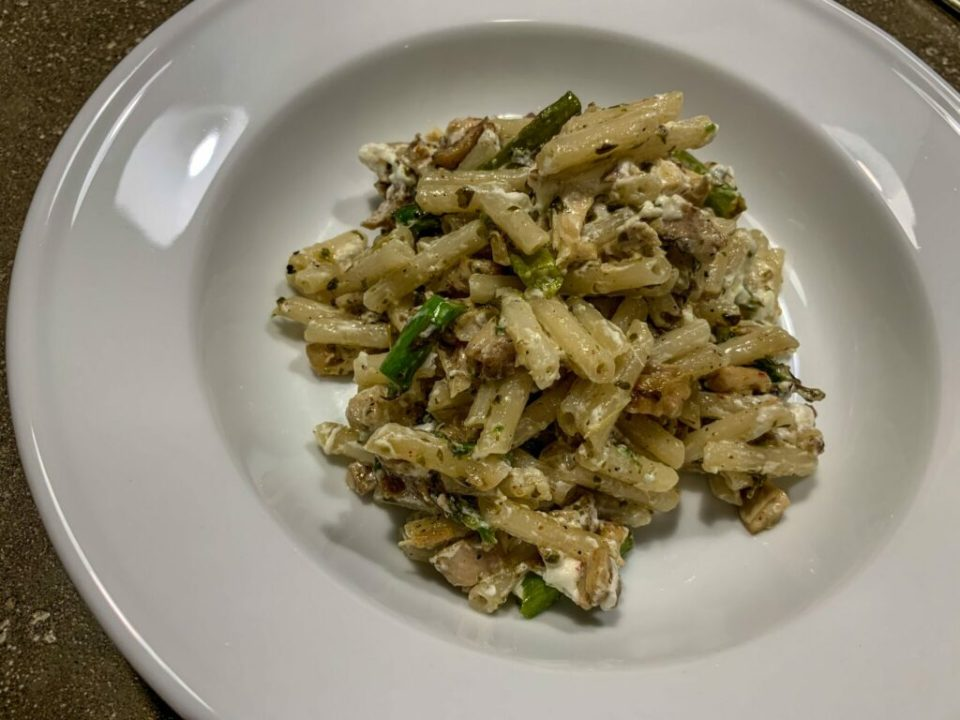 Basil Goat Cheese Penne: 3ten.ca