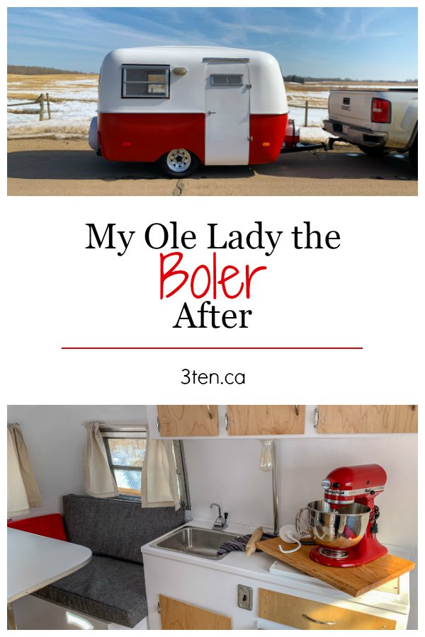 My Ole Lady the Boler After: 3ten.ca