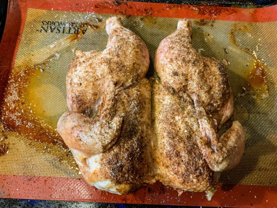 Flat Roasted Chicken: 3ten.ca