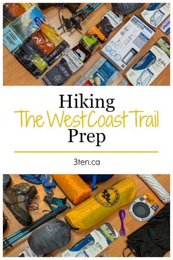West Coast Trail Prep: 3ten.ca