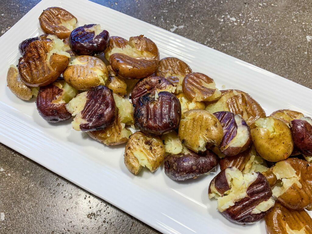 Smashed BBQ Potatoes: 3ten.ca