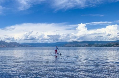 Paddleboarding in Kelowna: 3ten.ca