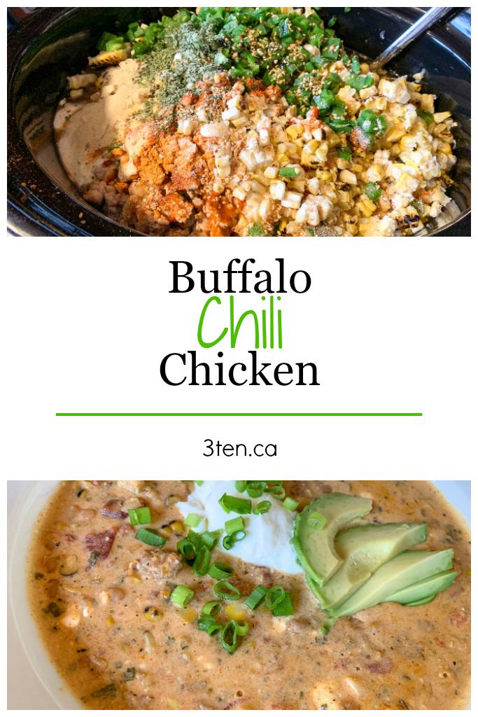 Buffalo Chicken Chili: 3ten.ca
