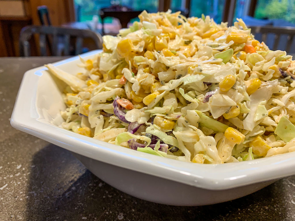 Cabbage Corn Salad: 3ten.ca