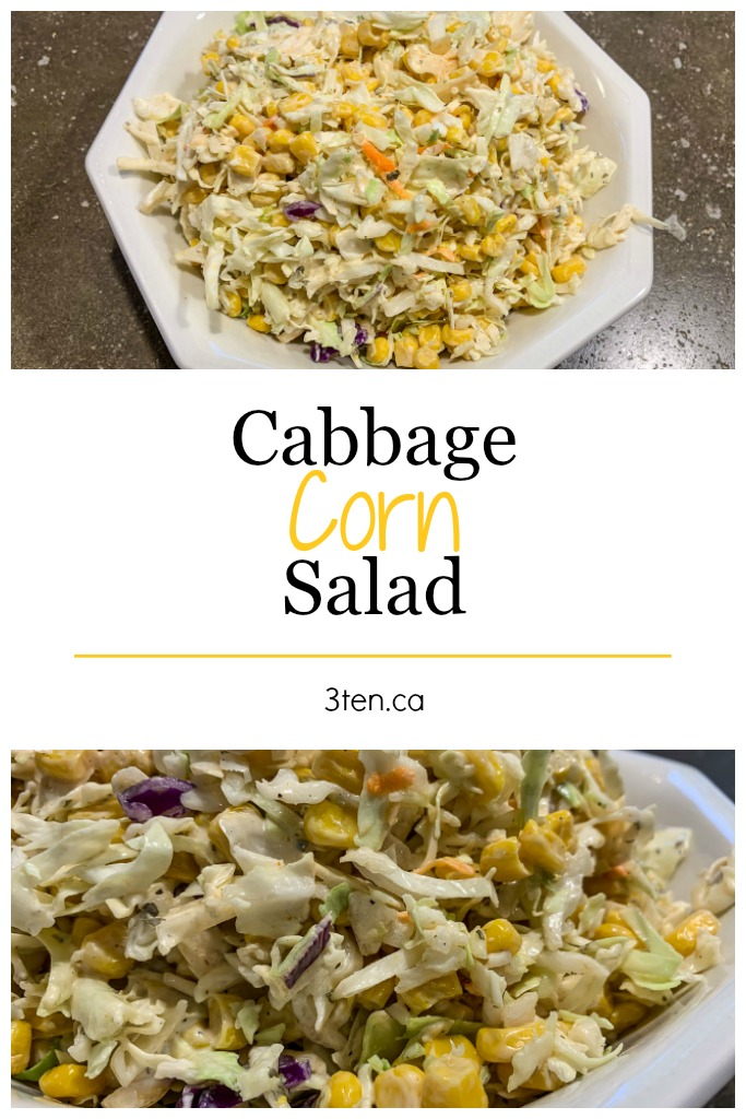 Cabbage Corn Salad: 3ten.ca