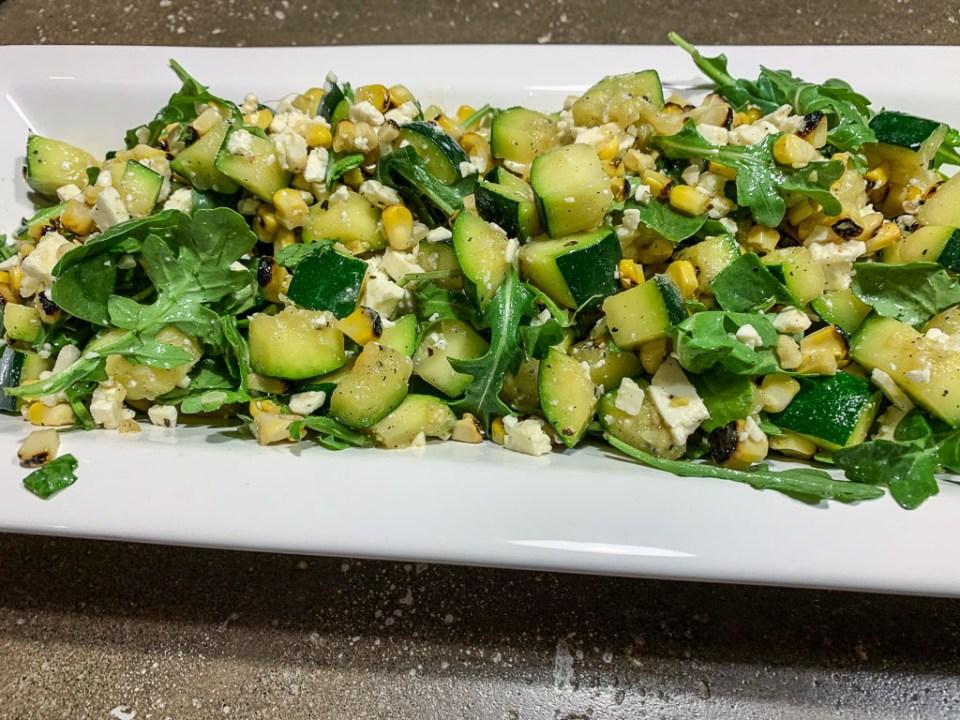 Grilled Corn and Zucchini Salad: 3ten.ca