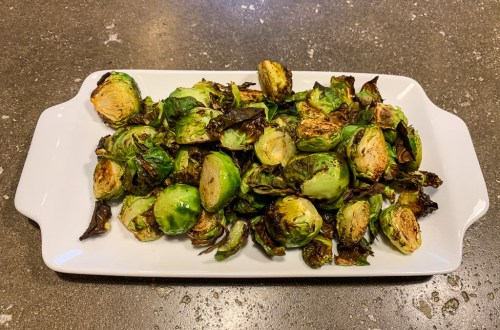 Mexican brussel sprouts