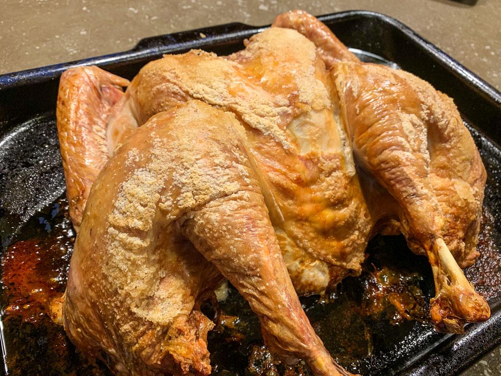Flat Roasted Turkey: 3ten.c