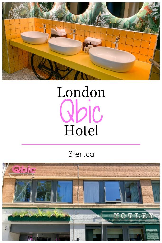 Qbic Hotel London: 3ten.ca