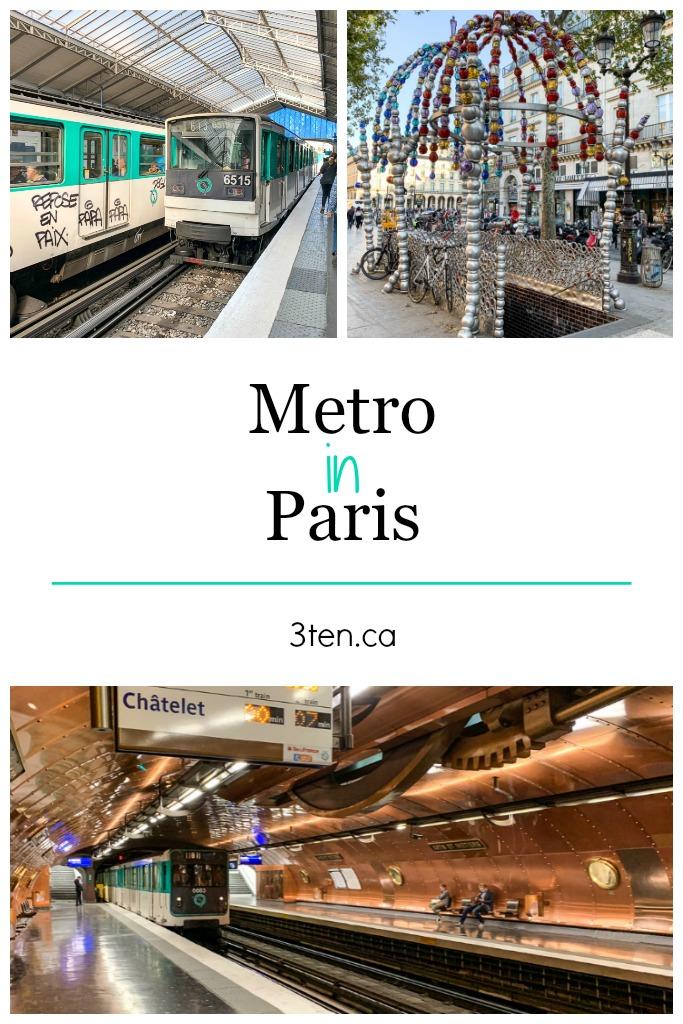 Metro in Paris: 3ten.ca