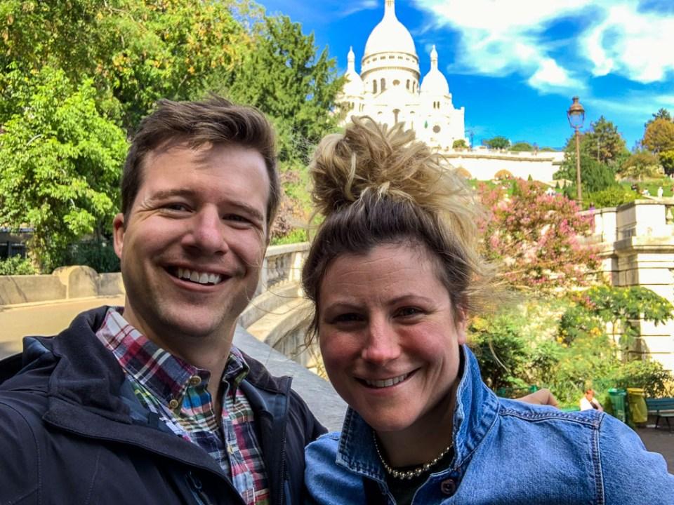 Selfie in Paris: 3ten.ca