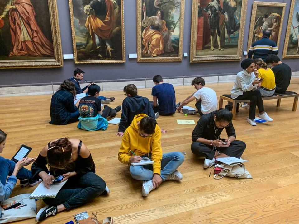 Art Students: 3ten.ca