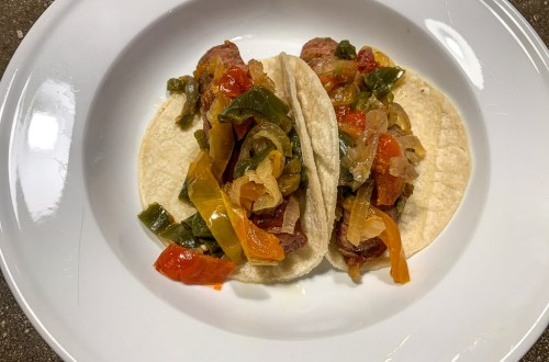 Chicken Sausages and Peppers: 3ten.ca