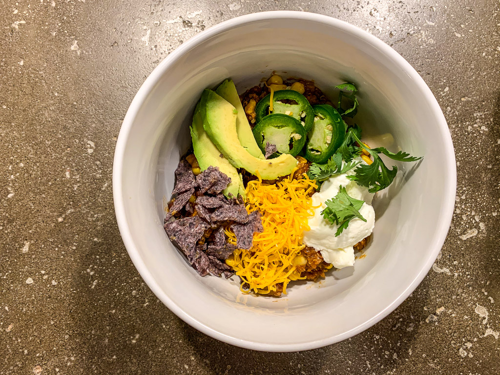 Slow Cooker Quinoa Burrito Bowl: 3ten.ca